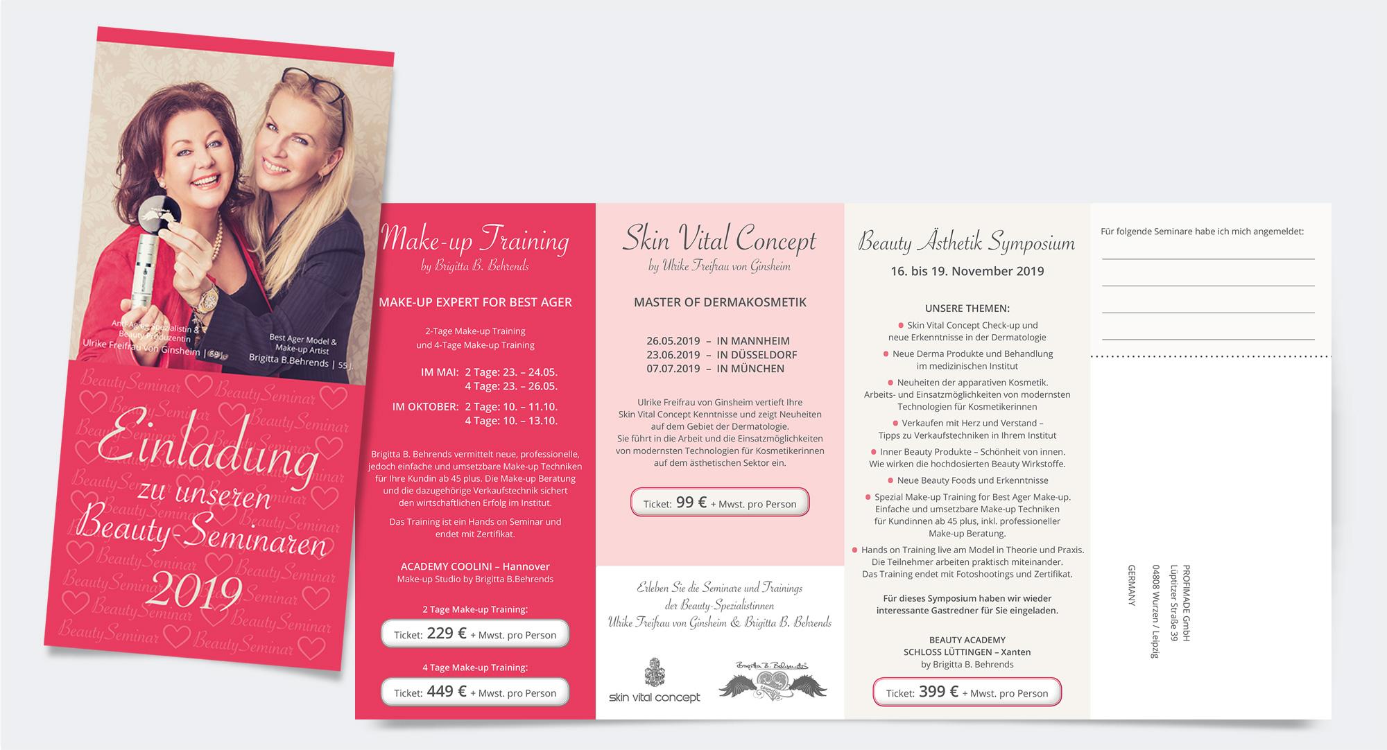 Brigitta Behrends – Einladung zu Beauty-Seminaren