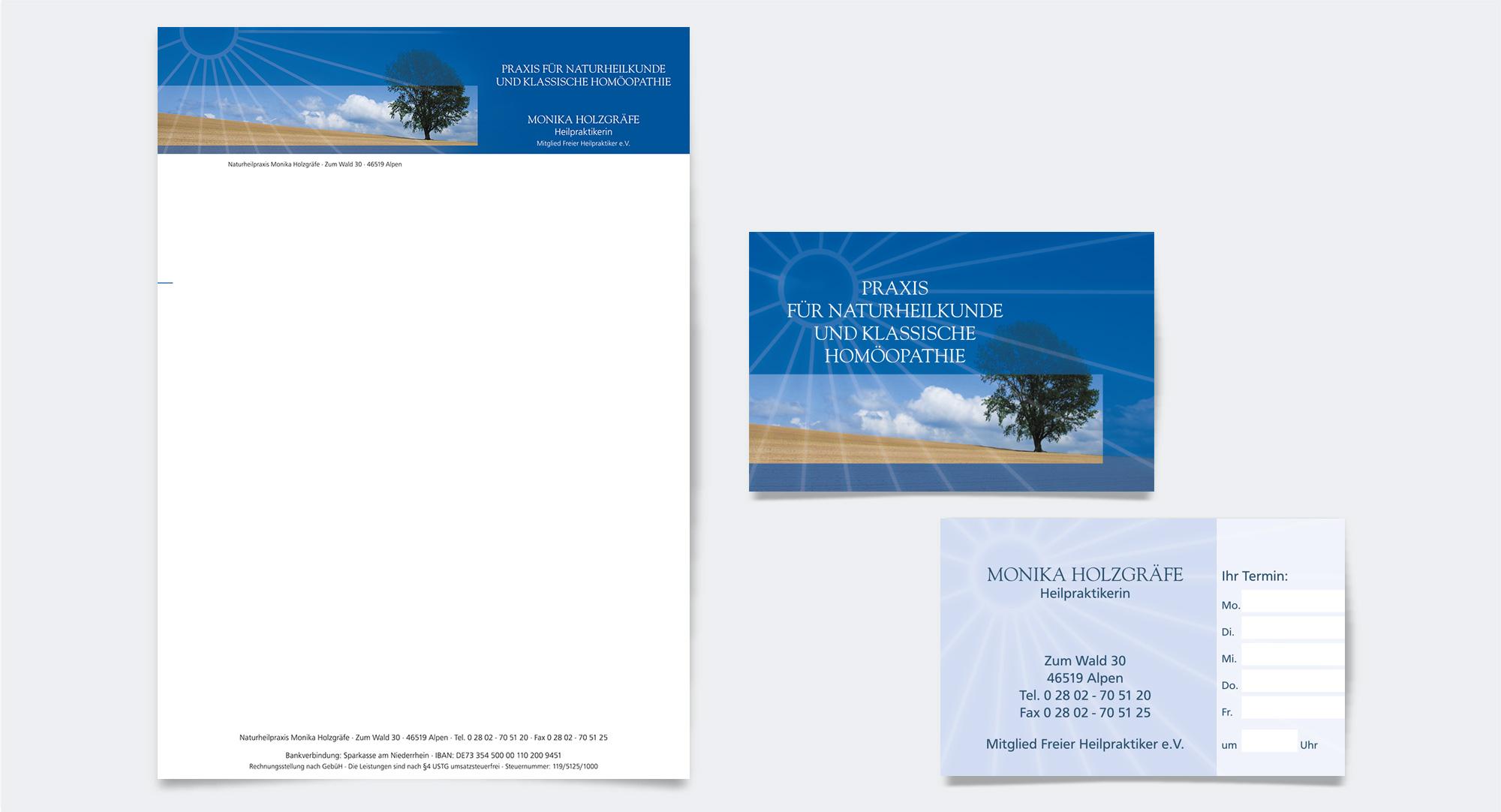 Monika Holzgräfe, Praxis für Naturheilkunde – Praxisausstattung